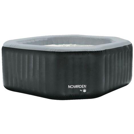 NOVARDEN NSI50 von NETSPA 5/6-Sitzer - Aufblasbarer Whirlpool - Anthracite grey