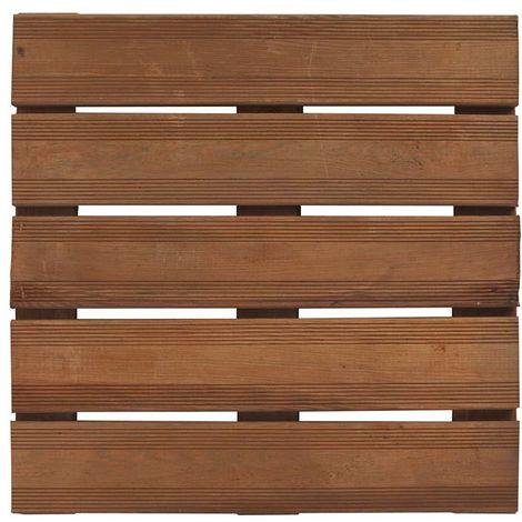 Les caillebotis ou dalles pour terrasse en bois