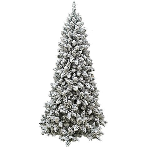 Albero Di Natale Slim 210.Albero Di Natale Artificiale Innevato 180 Cm 560 Rami Manieri Monterey Slim Floccato
