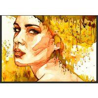 Fotomurale - Amber Lady 400x280cm Carta Da Parato Erroi