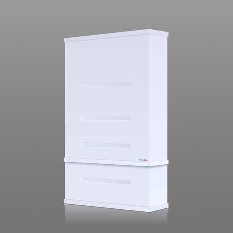 Chauffe-eau electrique 81 litres extra plat vertical WATERSLIM Wts 50 Blanc