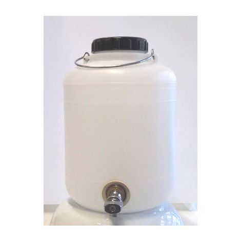 Bidon 10 litros con grifo metálico
