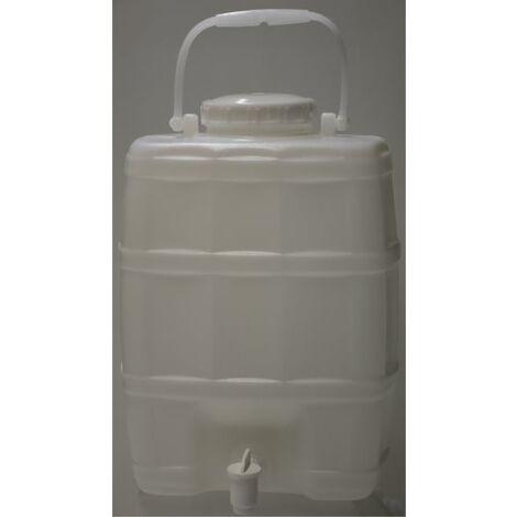 Bidon 20 litros reforzado con grifo
