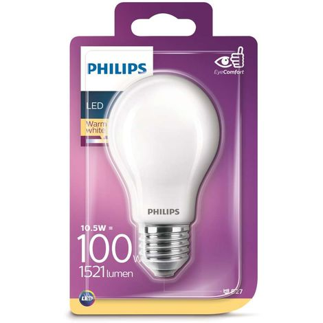 PHILIPS LAMPADINA LED GLOBO SFERA GOCCIA 13,5W 100W LUCE CALDA E27 2700K 1520lm