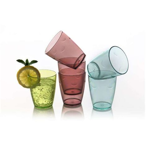 Bicchieri Kristal set 8 pezzi 280cc