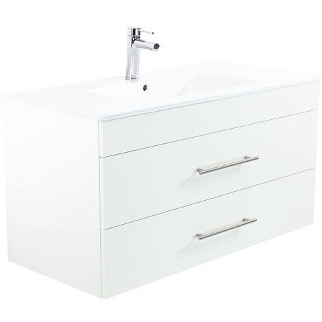 Mueble de baño Home 1000 Blanco mate -Promociones especiales