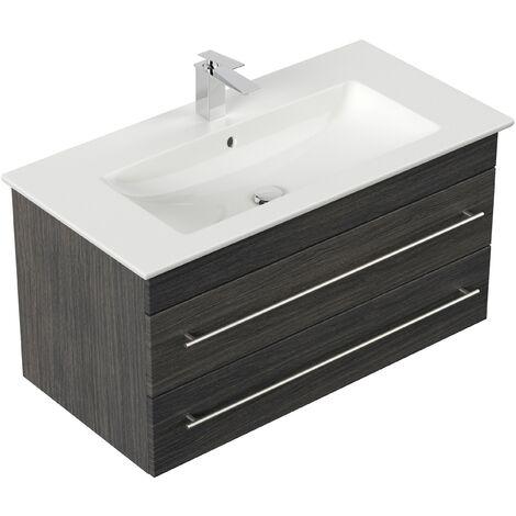 Mueble de baño con Lavabo Villeroy & Boch Venticello 100 cm Antracita vetado