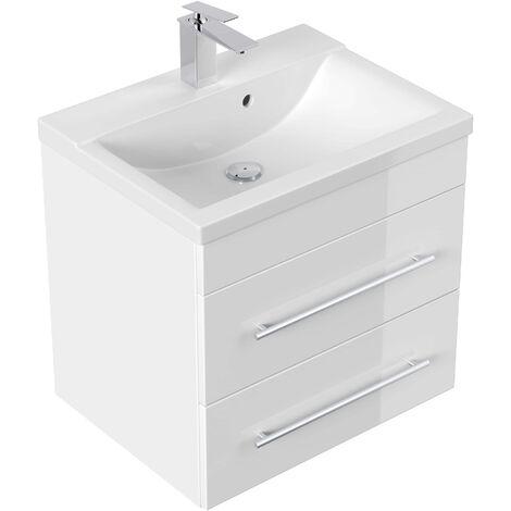 Mueble de baño SIA Blanco brillante