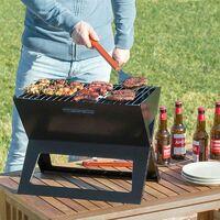 FOLDYQ : Barbecue Pliable Portatif à Charbon