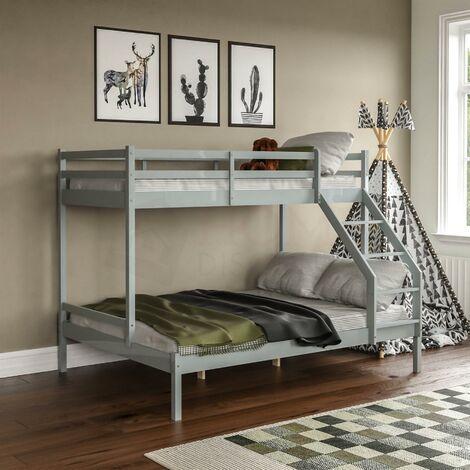 Sydney Triple Sleeper Bunk Bed, Grey