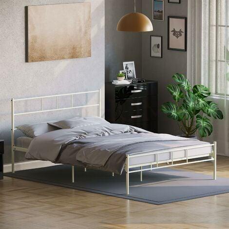 Dorset Bed 4ft6 Double, White