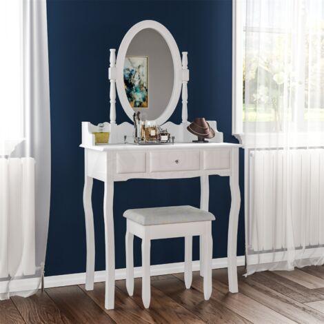 Nishano 1 Drawer Dressing Table, White