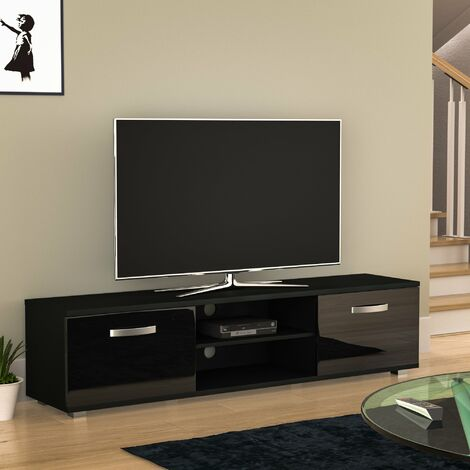 Cosmo 2 Door TV Unit, 160cm, Black