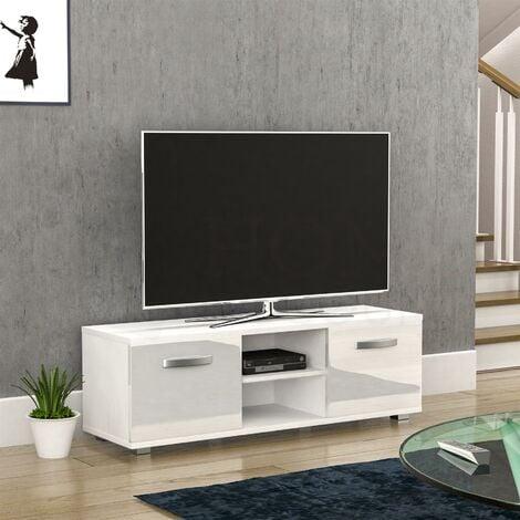 Cosmo 2 Door TV Unit, 120cm, White