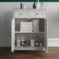 Priano 2 Drawer 2 Door Freestanding Cabinet