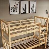 Milan Bunk Bed, Pine