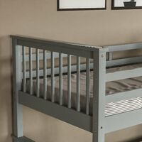 Milan Bunk Bed, Grey