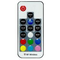 Azura 1 Door Large LED Sideboard, White