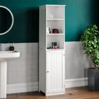 Priano 1 Door 2 Shelf Tall Cabinet