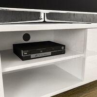 Cosmo 2 Door TV Unit, 140cm, White