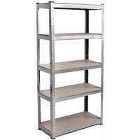 5 Tier Shelf, Galvanised
