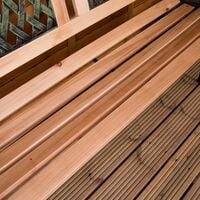 Garden Bench, Twin Cross Style