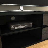 Cosmo 2 Door TV Unit, 140cm, Black