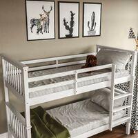 Milan Bunk Bed, White