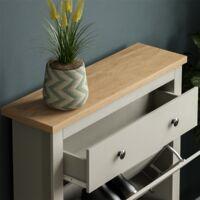 Arlington Shoe Cabinet, Grey