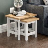 Arlington Nest Of Tables, White