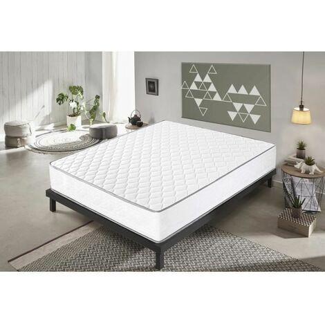 colchón 80x190 viscoelástico - alta densidad CONFORT PLUS - 21 cm alto - ortopédico