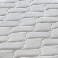 Colchón 120x190 de espuma viscoelástico con gel - 27 cm de alto - 9 zonas diferenciadas