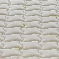 Colchón 80x200 de espuma viscoelástico - altura 25 cm - funda extraíble - 9 zonas