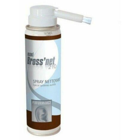 Spray nettoyant pour appareils auditif BrossNet 210-  150ml net