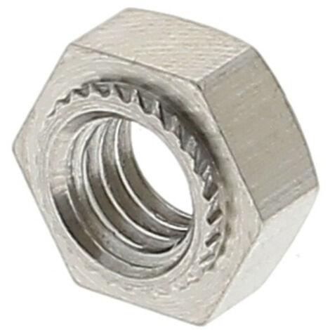 Ecrou A Sertir Hexagonal M4 Inox