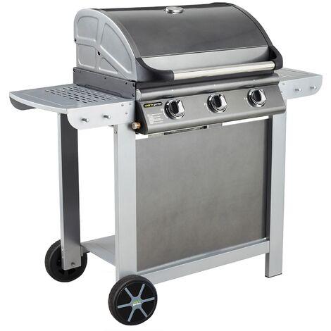 Barbecue gaz mixte ˆ capot FIESTA 3 (3 bržleurs)  Cook'in Garden