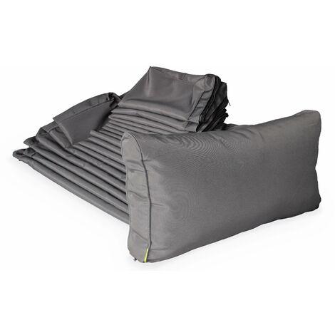 Grey cushion cover set for Venezia garden set - complete set