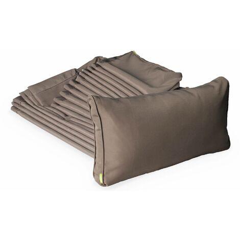 Brown cushion cover set for Venezia garden set - complete set