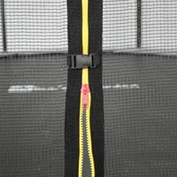 16ft Trampoline with Safety Net - Grey - PRO Quality EU Standards