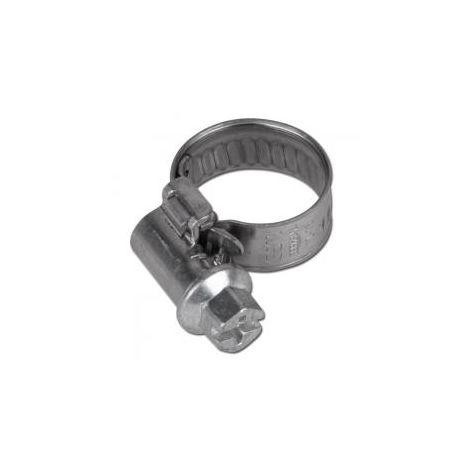 Schneckengewindeschelle GEMI SX-T- Edelstahl - Spannbereich-Ø 180 bis 200 mm - Breite 9 mm