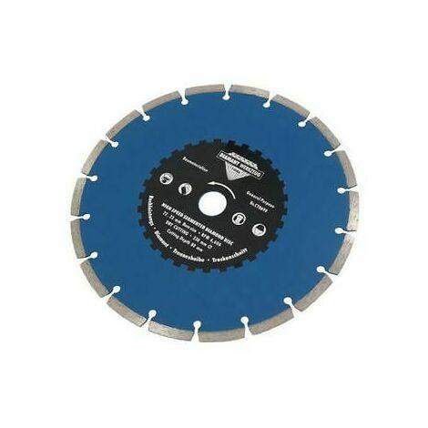 230mm Segmented Diamond Cutting Disc Hard Brick Tiles Stone Masonry