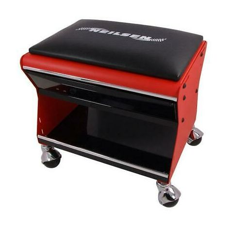 Mechanic Creeper Trolley Seat Chair Stool with Drawer