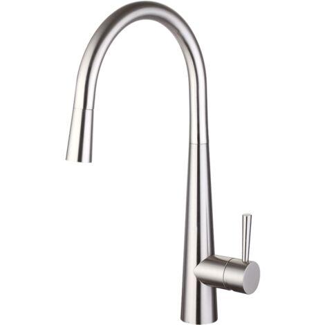 Trisen Jema Chrome pull out single lever Kitchen mixer TK009