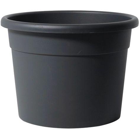 Pot Diana | Anthracite - 25 cm