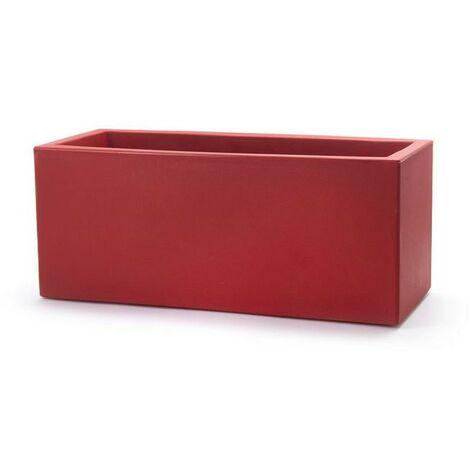 Jardinière Schio 80   80 cm - Rouge cardinal