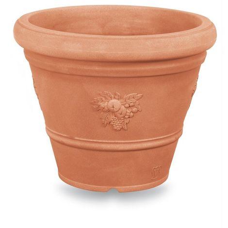 Pot Rond Ducal Festonné | 35 cm - Terre cuite