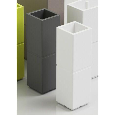 Pot Colonne Patio   Gris tourterelle - 30 cm