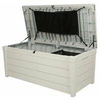 Keter Coffre Résine POOL BOX 120G Blanc