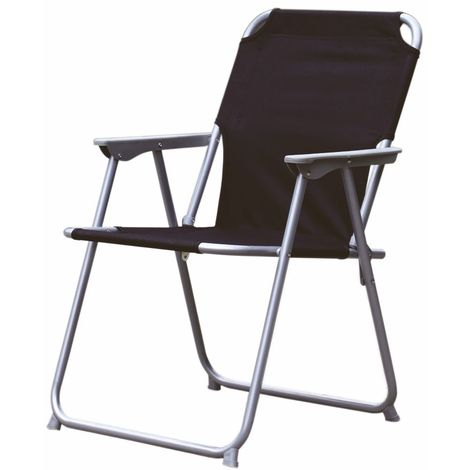 3 09 Camping Sessel Oxford Farbe Schwarz
