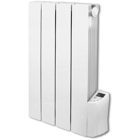 WARM TECH RIF600-4 - Radiador electrico con programación semanal. Potencia 600W